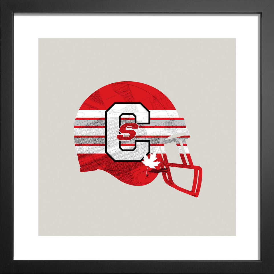Calgary Stampeders-Inspired CFL Football