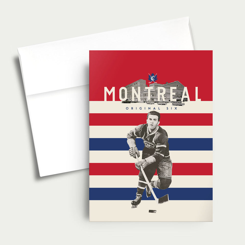 Greeting Card: NHL Original Six-Montreal Canadiens