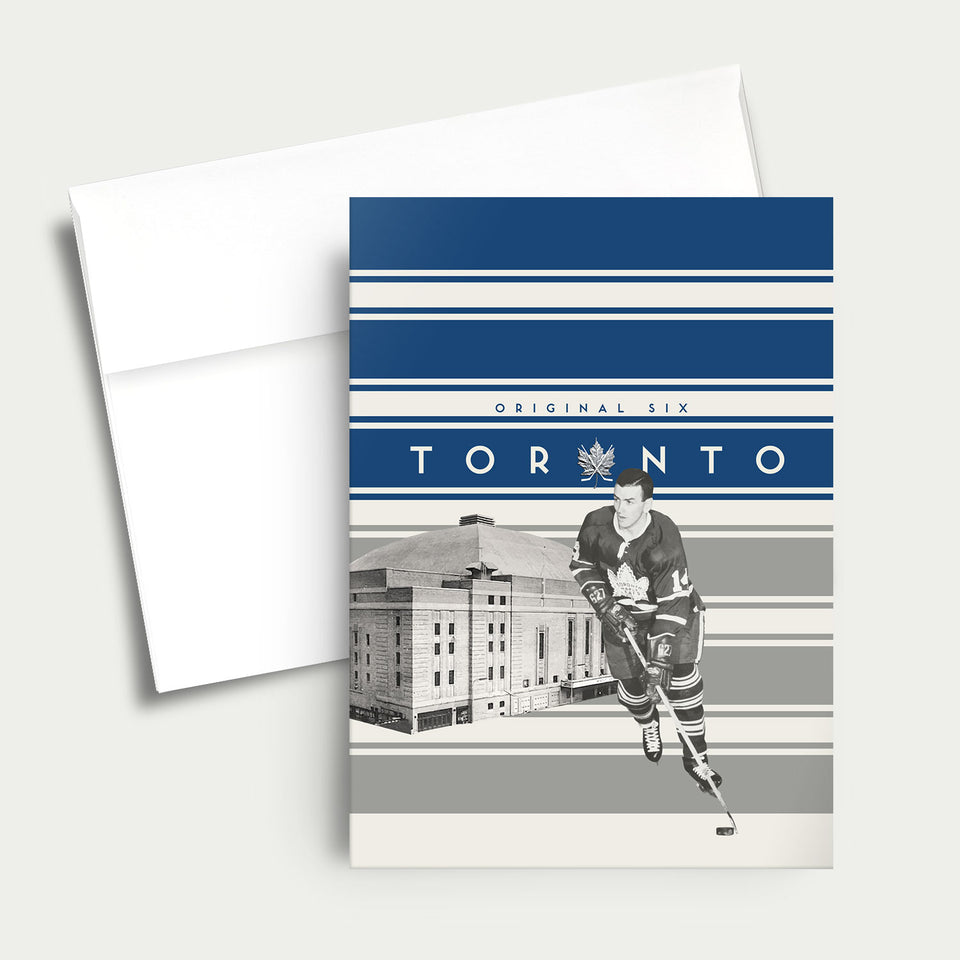 Greeting Card: NHL Original Six-Toronto Maple Leafs