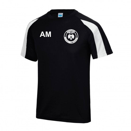 Kids Contrast Cool Training Top