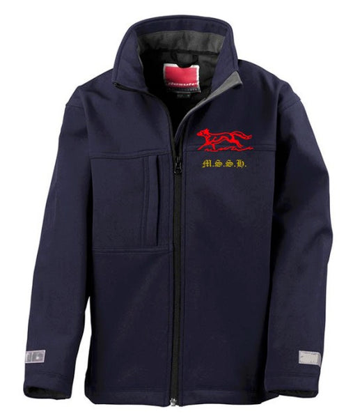 Junior classic softshell 3-layer jacket