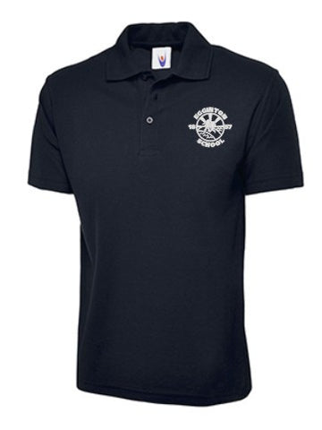 Egginton School Navy Polo Shirt - IPM Teamwear