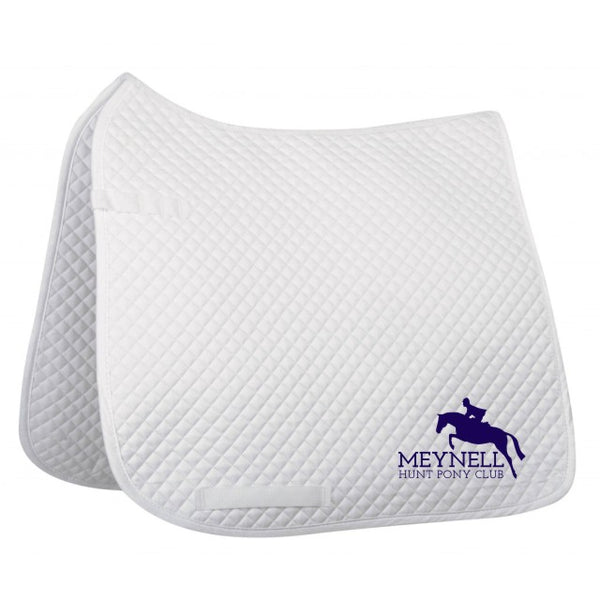 Meynell Hunt Pony Club Dressage Saddle Pad-small quilt, general purpose