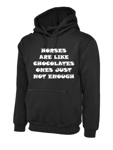 Horses are Like Chocolates Hoody