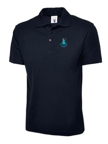 Richard Wakefield Junior Navy Polo Shirt - IPM Teamwear