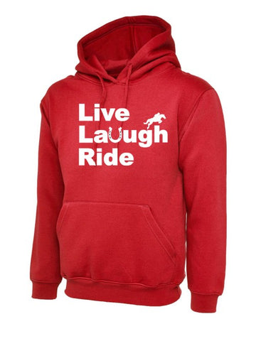 Live Laugh Ride Children's Hoody