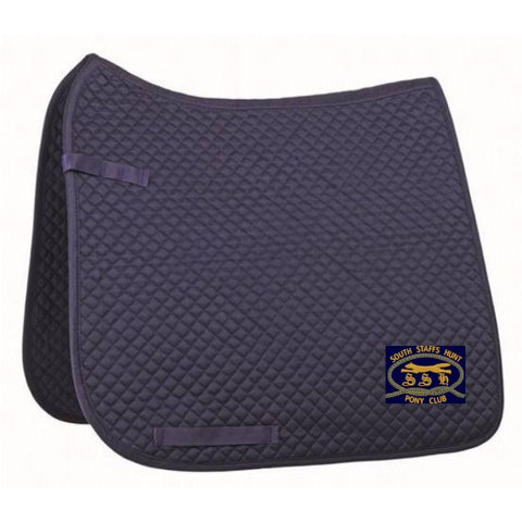South Staffs Hunt Pony Club Saddle Pad-small quilt, general purpose