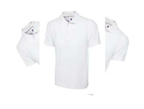 Pack Of 3 Plain White Polo Shirts - IPM Teamwear