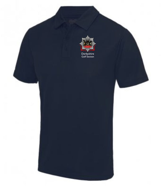 Derbyshire Fire and Rescue Golf Section Polo Shirt