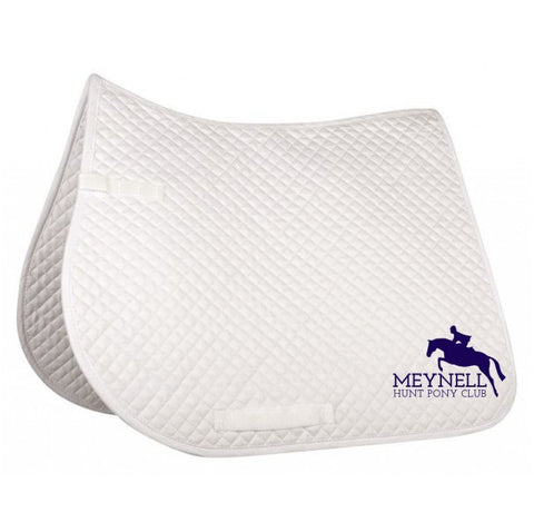 Meynell Hunt Pony Club Saddle Pad-small quilt, general purpose