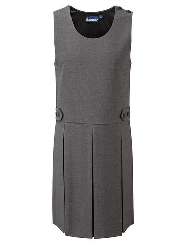 Tenby Box Pleat Pinafore