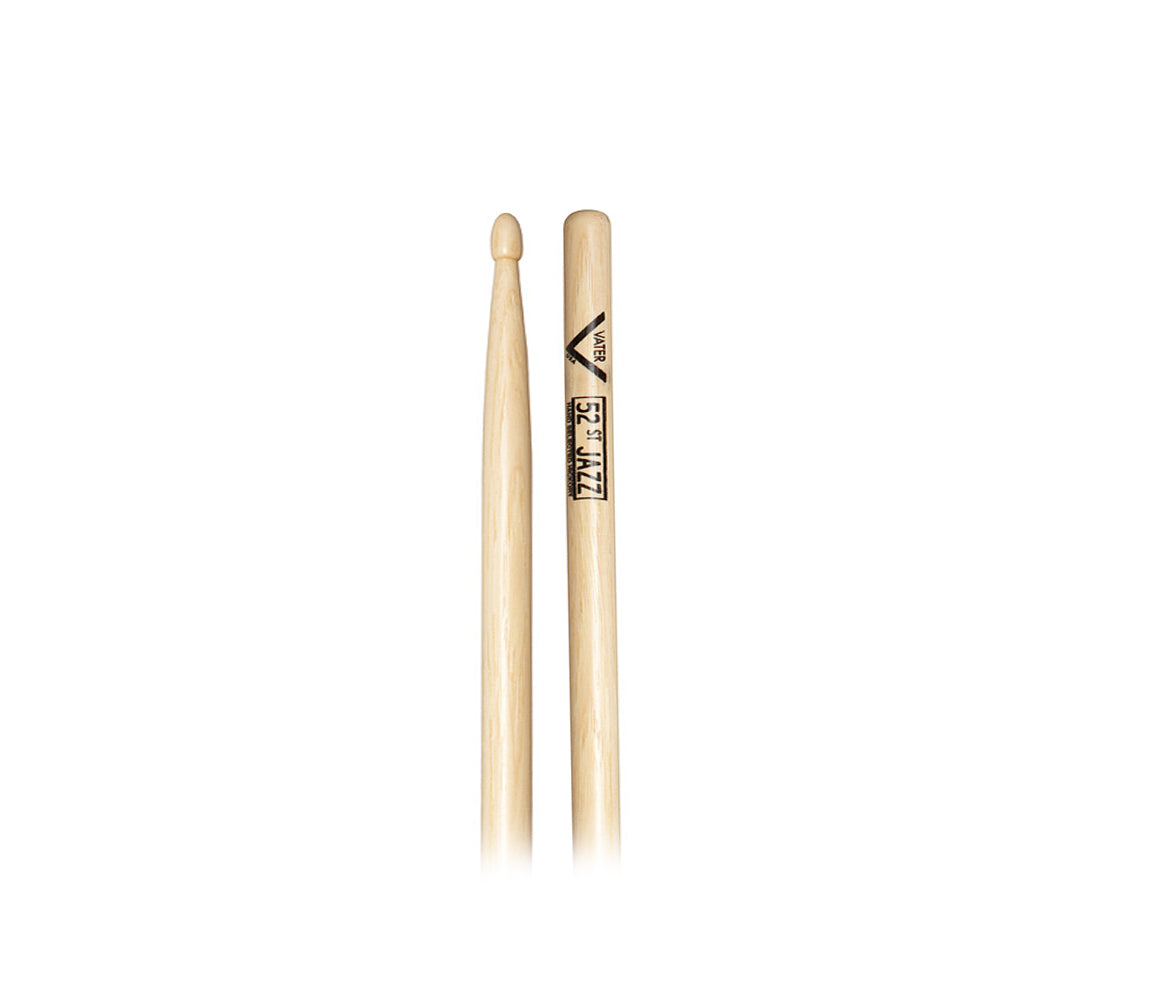 Vater Hickory 52nd Street Jazz Wood Drumsticks