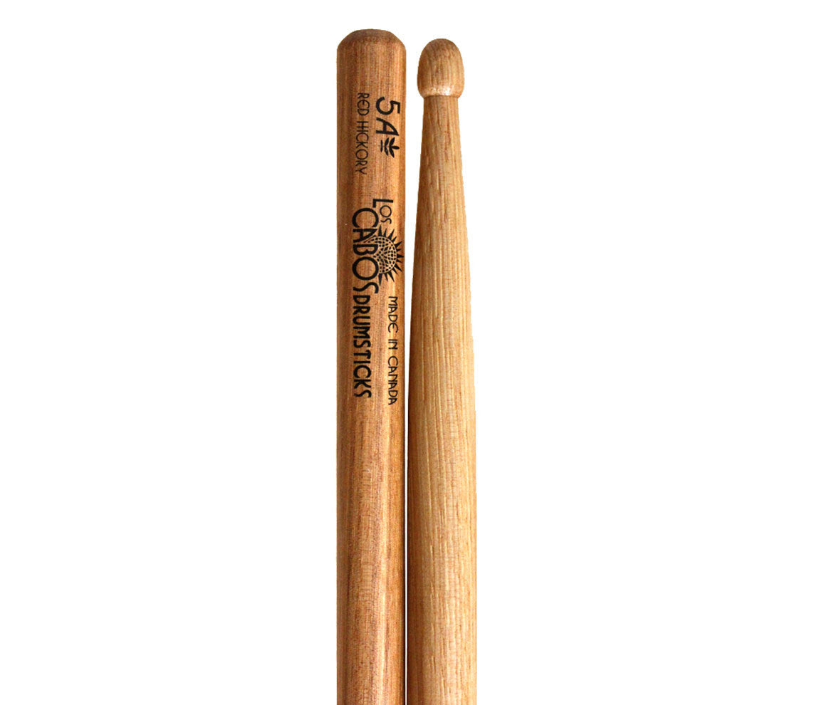 Los Cabos Red Hickory 5A Drumsticks