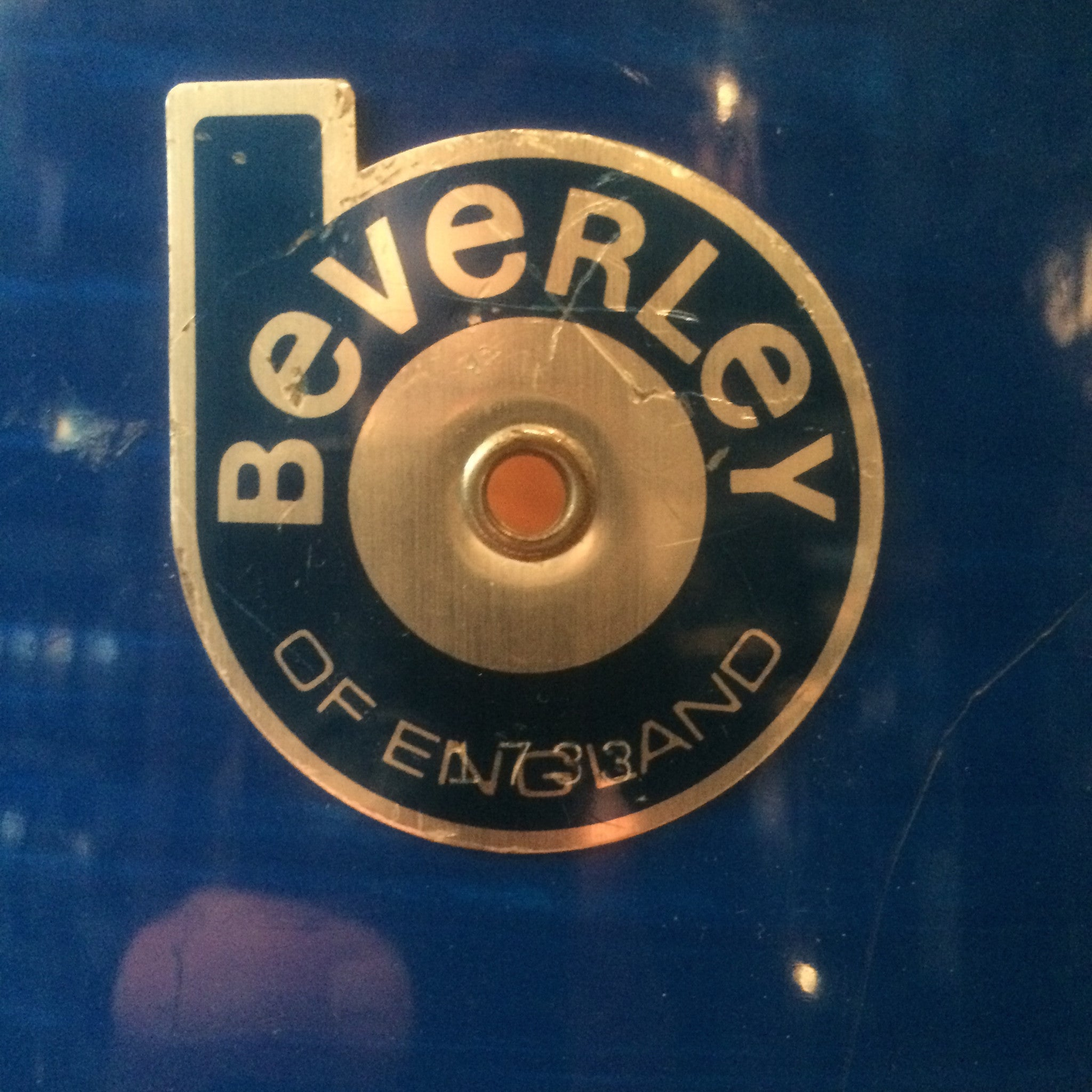 Vintage Beverly drum kit