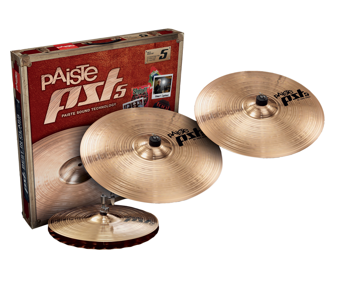 PST5 cymbals at Newcastle Drum Centre