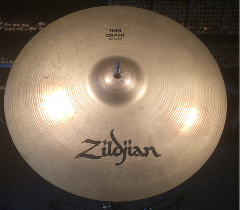 "Zildjian Avedis 16"" Thin Crash Cymbal"