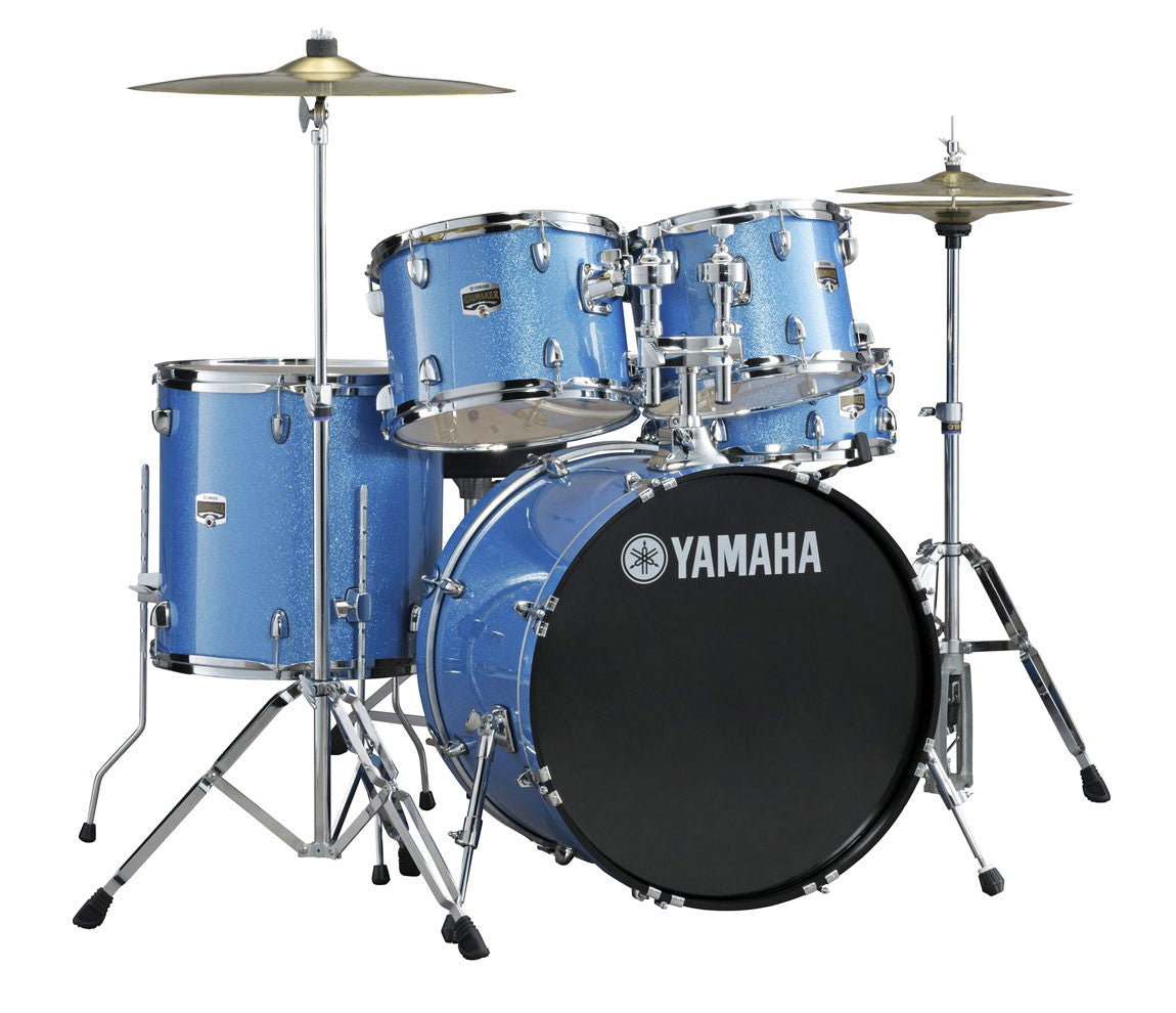 Yamaha Gigmaker blue drum kit