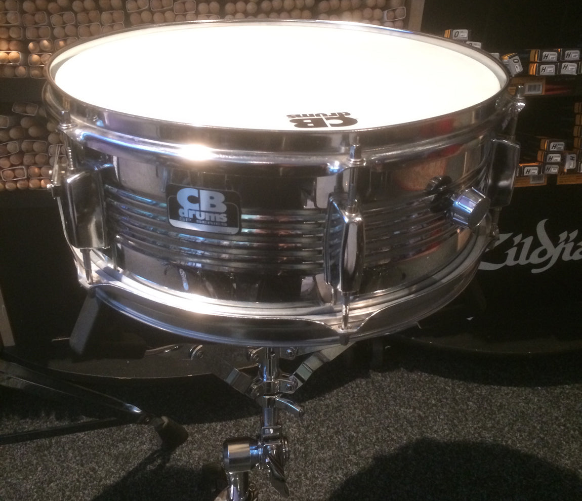 "CB Drums 14"" x 5.5"" Steel Snare Drum"