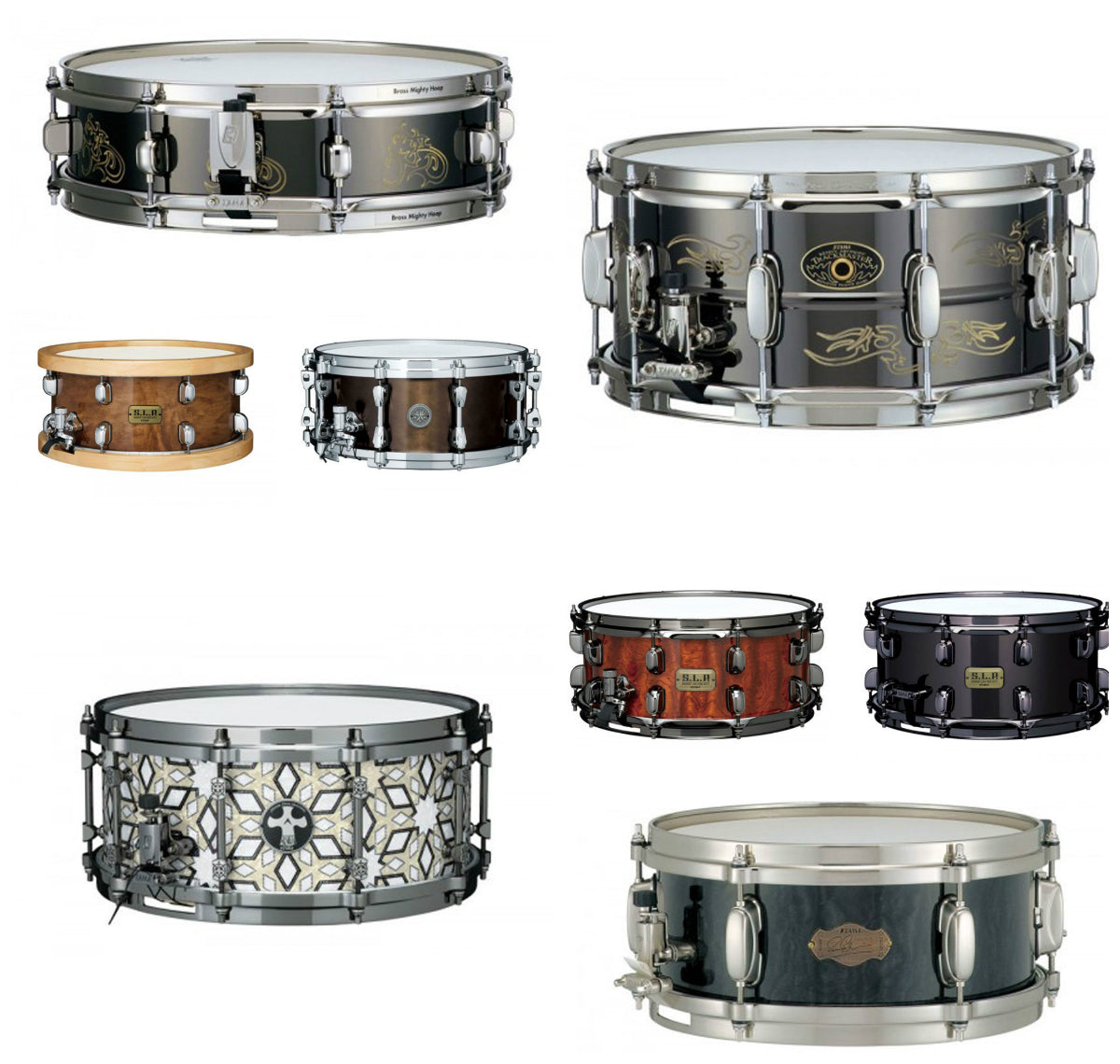 Snare Drums from Tama