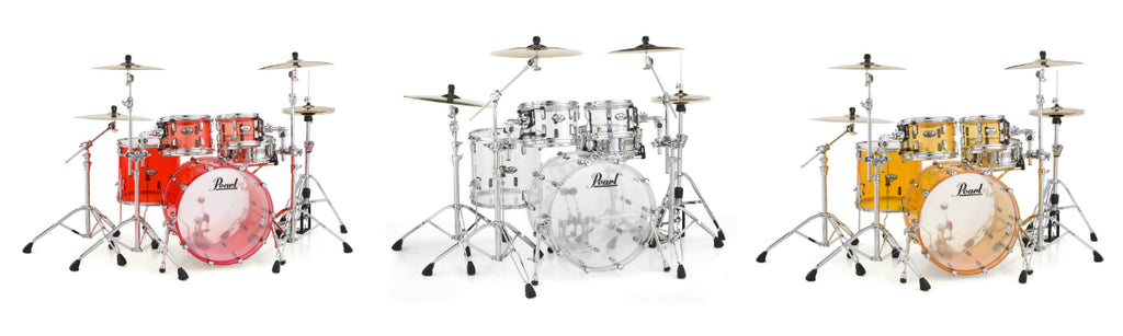 Pearl Crystal Beat Series Drum Kits