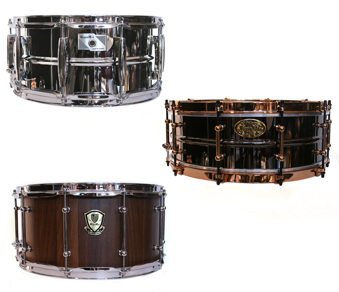 WorldMax Snare Drums