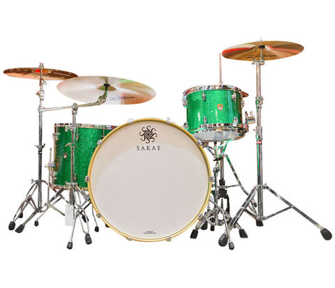 Sakae Trilogy 3-Piece Shell Pack in Green Sparkle