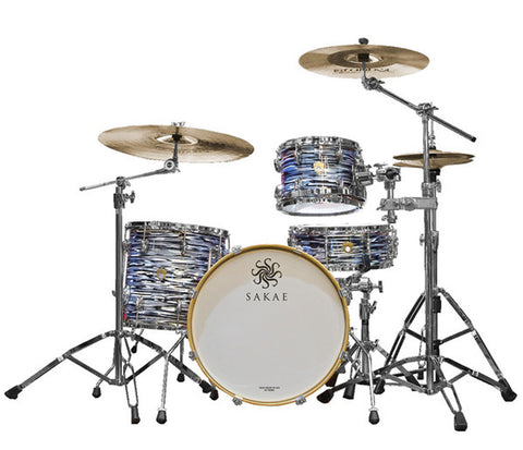 Sakae Trilogy 3-Piece Jazz Shell Pack In Black Oyster Pearl