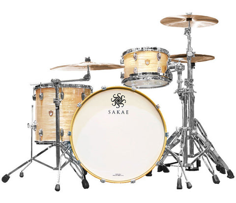 Sakae Trilogy 3-Piece Shell Pack in Vintage Club Oyster