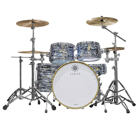 Sakae Trilogy 4-Piece Rock Shell Pack in Black Oyster Pearl