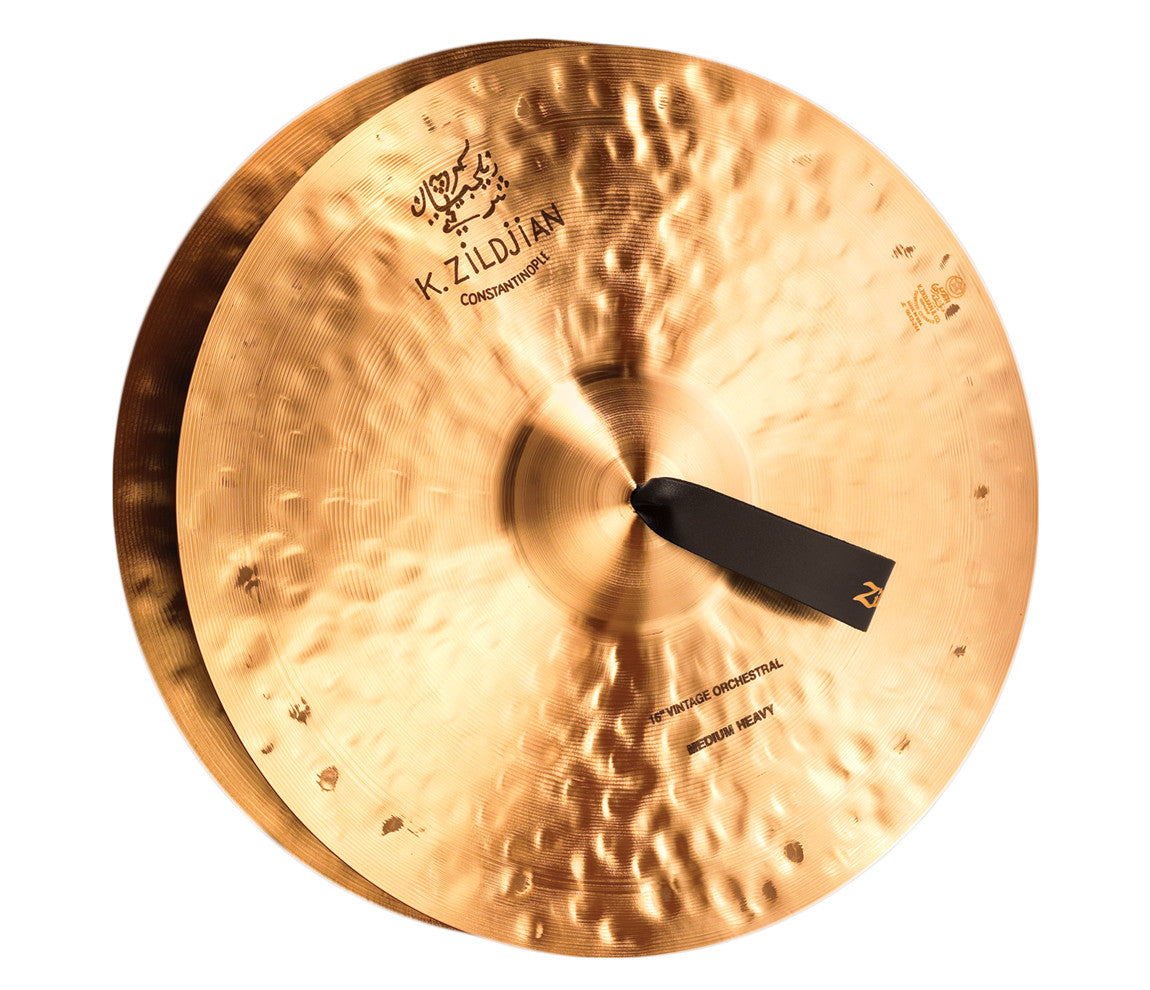 "Zildjian 16"" K Constantinople Vintage Medium Heavy Pair with Pads, Straps & Bag"