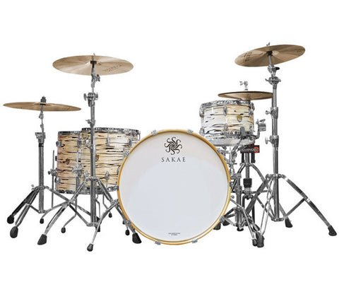 Sakae Trilogy 4-Piece Rock Shell Pack in Mint Oyster Pearl
