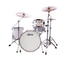 "Ludwig, Ludwig NeuSonic, 22"" x 16"" Kick Drum, 16"" x 16"" Floor Tom, 12"" x 8"" Rack Tom, Aspen White Finish"