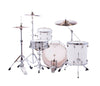 "Ludwig, Ludwig NeuSonic, 20"" x 14"" Kick Drum, 14"" x 14"" Floor Tom, 12"" x 8"" Rack Tom, Aspen White Finish"