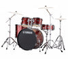 "Yamaha Rydeen 22"" US Fusion Drum Kit with Hardware in Burgundy Glitter, Yamaha, Acoustic Drum Kits, Finish: Burgundy Glitter, Glitter, Yamaha Music, Yamaha Rydeen, US Fusion Drum Kit, Drum Kits, Hardware"