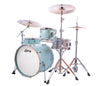 "Ludwig, Ludwig NeuSonic, 20"" x 14"" Kick Drum, 14"" x 14"" Floor Tom, 12"" x 8"" Rack Tom, Skyline Blue Finish"