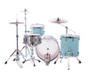 "Ludwig, Ludwig NeuSonic, 22"" x 16"" Kick Drum, 16"" x 16"" Floor Tom, 12"" x 8"" Rack Tom, Skyline Blue Finish"