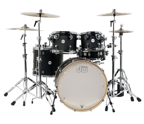 DW Design Series 4-Piece Frequent Flyer Matte Lacquer Drum Kit