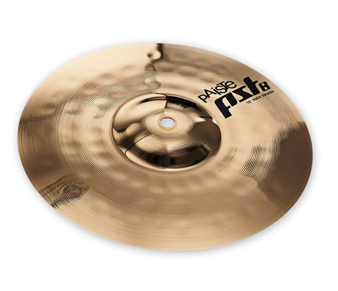 "Paiste PST 8 10"" Reflector Rock Splash Cymbal"