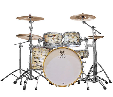 Sakae Trilogy 4-Piece Shell Pack In Mint Oyster Pearl