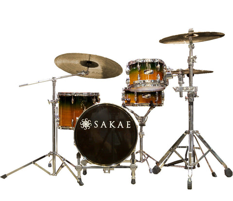 Sakae Pac-D 4-Piece Compact Drum Kit in Forest Fade