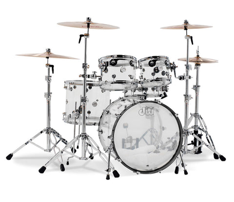 DW Design Series Seamless Acrylic 5-piece Drum Kit
