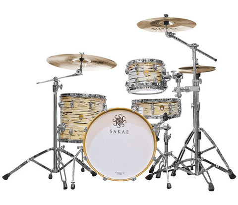 Sakae Trilogy 3-Piece Rock Shell Pack in Mint Oyster Pearl