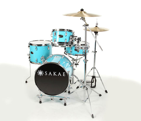 Sakae Pac-D Compact Drum Kit in Sonic Blue
