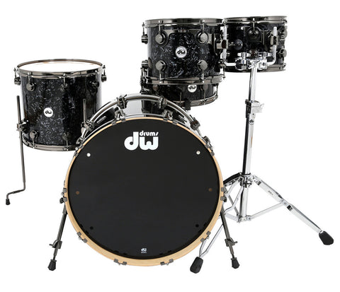 Drum Workshop Collectors 5-Piece in Black Velvet