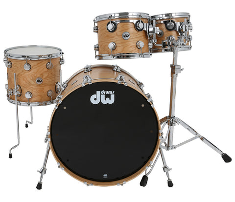Drum Workshop Collectors 5-Piece Shell Pack in Natural Cherry