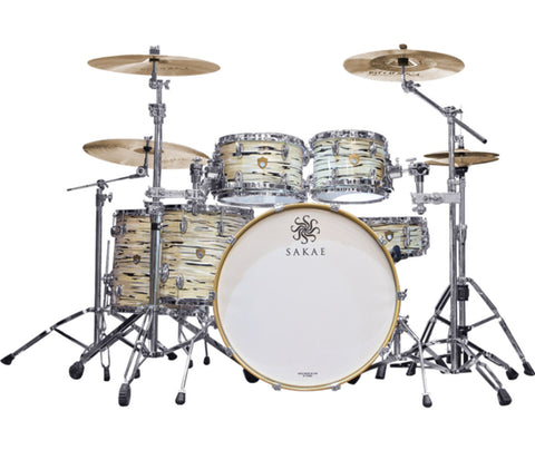 Sakae Trilogy 5-Piece Shell Pack In Mint Oyster Pearl