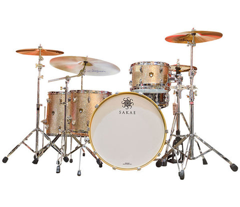 Sakae Trilogy 4-Piece Shell Pack in Champagne Sparkle