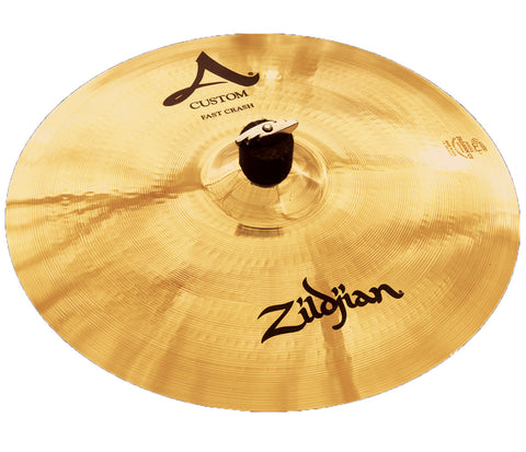 "Zildjian 16"" A Custom Fast Crash Cymbal"