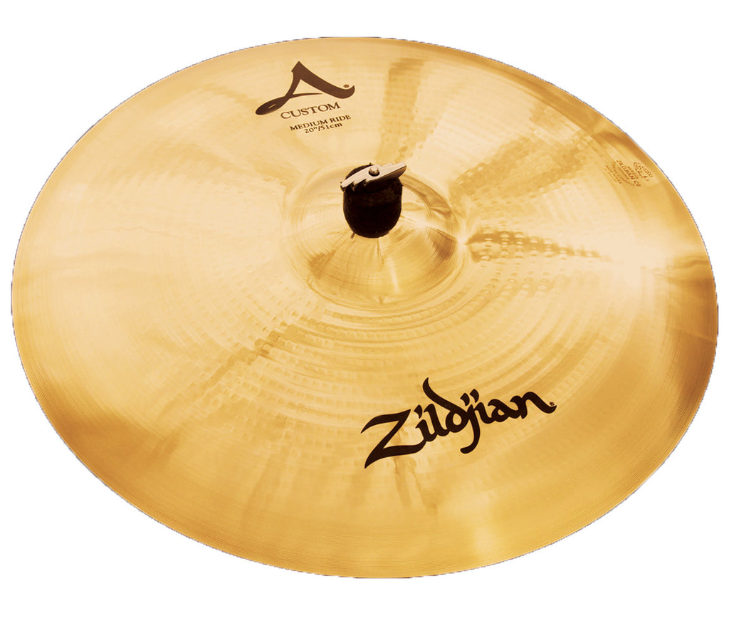 "Zildjian 22"" A Custom Medium Ride Cymbal"