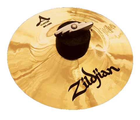"Zildjian 10"" A Custom Splash Brilliant Cymbal"